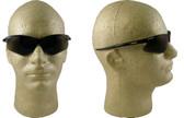 Jackson Nemesis Safety Glasses with Black Frame Blue Mirror Lens