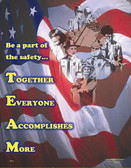 TEAM Safety Poster - 24X32