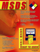 MSDS Safety Poster - 24X32