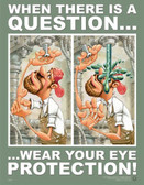 Eye Protection Safety Poster - 24X32