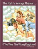 Respirator Safety Poster - 24X32