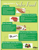 Safer Food Poster (24 by 32 inch)