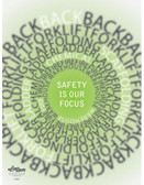 Safety is Our Focus Safety Poster (24 by 32 inch)