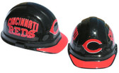 Cincinnati Reds MLB Baseball hard hats with pin lock suspensions