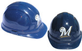 Milwaukee Brewers MLB Baseball Safety Helmets with pin lock suspensions