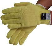 Regular weight 100% Kevlar® Fiber Gloves with Knit Wrist (sold by the dozen)