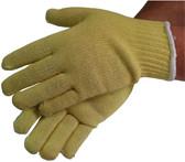 Regular Weight Kevlar®/Cotton Mix Gloves with Knit Wrist (sold by the dozen)