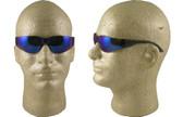 Gateway Mini Starlite Safety Glasses with Blue Mirror Lens