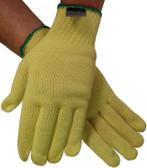 Heavyweight 100% Kevlar® Fiber Gloves with Knit Wrist (dz)