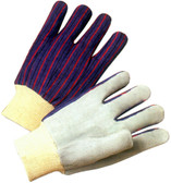 Economy Leather Palm with Knit Wrist (priced and sold by the dozen)