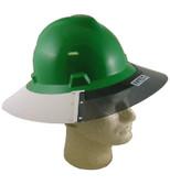 MSA #697410 MSA V-Gard Full Brim Plastic Sun Shield