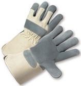Heavy Duty Leather Glove with Gauntlet Cuff & Kevlar Stitching (sold by the dozen)