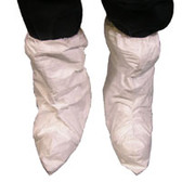 DuPont Tyvek® Fiber Boot Covers, High 17 Inch Top White (50 pair)