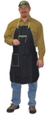 Denim Apron with 1 Swing Chest Pocket & 1 Hip Pocket, 28 x 36 (12 per case)