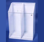 "Frock Dispenser - 2 Openings At Base - 22""W X 30""H X 15-1/2""D"