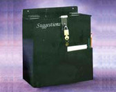 """Suggestion Box With Hasp & Lock, Large - 10-3/4""""W X 11-1/2""""H X 6-1/2""""D"""