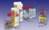 Triple Wide Safety Glass Dispenser