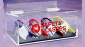 Safety Glass Holder W/Lid