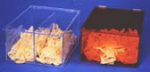 Bulk Glove Dispenser Amber Acrylic