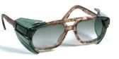 Universal side shields w/ smoke lens for larger glasses (Pair)