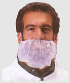 Polypropylene Beard Covers WHITE (1000 per case)