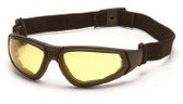 Pyramex XSG Sport Safety Glasses with Amber Lens