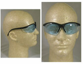 Crews KlondikeSafety Glasses w/ Light Blue Lens