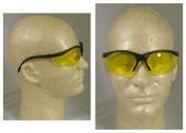 Crews Klondike Safety Glasses w/ Amber Lens