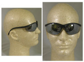 Crews Klondike Safety Glasses w/ Silver Mirror Lens