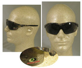 Crews Mossy Oak Series, Smoke Lens Camouflage Safety Glasses