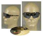 Crews Mossy Oak Series, Silver Lens Camouflage Safety Glasses