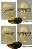 Uvex Bandit Safety Glasses, Black Frame - Clear Lens