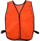 Tight weave Orange safety vests Plain