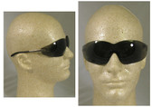 Crews Blackjack Safety Glasses: Crews Blackjack Smoke Lens Safety Glasses