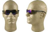 Pyramex Ztek Mini Safety Glasses with Blue Mirror Lens