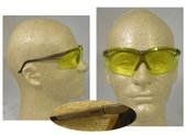Uvex Genesis Safety Glasses, Earth Frame - Amber Lens