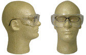 Pyramex Solo Jumbo Safety Glasses with Clear Lens