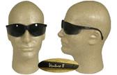 Pyramex Venture II Safety Glasses, Black Frame - Smoke Lens