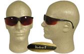 Pyramex Venture II Safety Glasses, Black Frame - Copper Lens