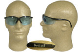 Pyramex Venture II Safety Glasses, Black Frame - Infinity Blue Lens