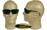 Pyramex Venture II Safety Glasses, Black Frame/ 3.0 Welding Lens