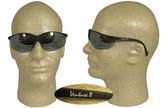 Pyramex Venture II Safety Glasses, Black Frame - Silver Mirror Lens