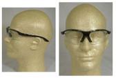 Pyramex Presidente's Black Frame Clear Lens Safety Glasses