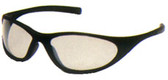 Pyramex Zone II Safety Glasses, Black Frame - Indoor/Outdoor Mirror Lens
