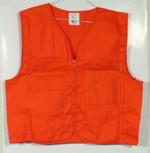 Surveyors Vest Orange Plain