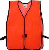 Safety Vest Plain Soft Mesh - Orange - SV1