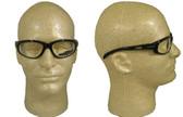 Edge Wolverine (Dakura) Safety Glasses Black Frame w/ Clear Lens