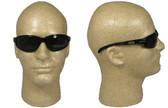 Edge Wolverine (Dakura) Safety Glasses Black Frame w/ Smoke Lens