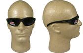 Edge McKinley (Polarized Dakura) Safety Glasses Black Frame w/ Polar Smoke Lens