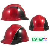 MSA Decorative V-Gard Cap Ratchet Suspension Rally Cap